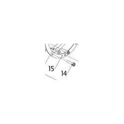 FIXING BOLT SET (8), SUPPORT RING - EVO I
