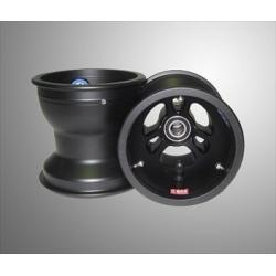 WHEEL SET FRONT 130MM  MAGNESIUM DOUGLAS