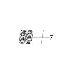 HQ VALVE SPRING, SET (4)