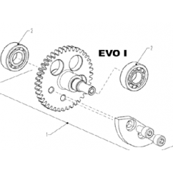 Balansas COMPLETE ( zonder lagers ) - EVO I