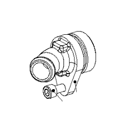Waterpomp decksel (inkl. Schroeven M6x20)