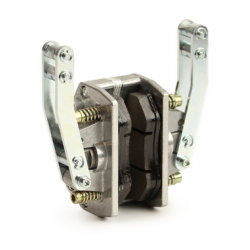 Brake caliper mechanically universal