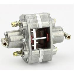 brake caliper rear hydr. 2-piston silver CIK / FIA