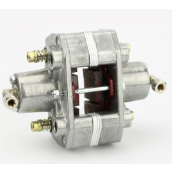 remklauw achter hydr. 2-zuiger zilver CIK / FIA