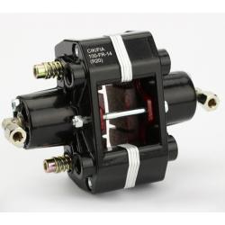 brake caliper rear hydr. 2-piston black CIK / FIA