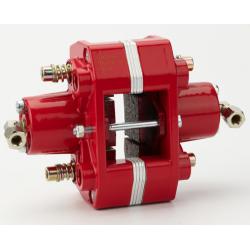 brake caliper rear hydr. 2-piston gold CIK / FIA