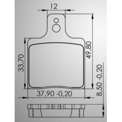 CRG Ven 05 brakepad front (Maddox/Gillard)
