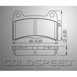remblok SET GOLDSPEED 423 INTREPID FRONT 2015