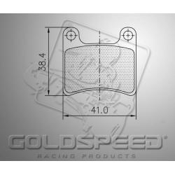 Brakepad SET GOLDSPEED 472