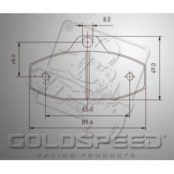 remblok SET GOLDSPEED 492 HAASE/INTRE/BIREL/PAROLIN/SKM