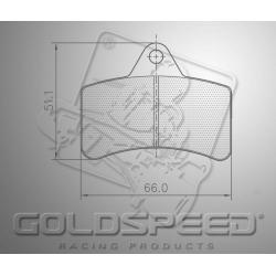 remblok SET GOLDSPEED 544 DINO FRONT