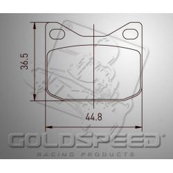 Brakepad SET GOLDSPEED 552 ZIP LIGHTNING HYDR./TOPKAR