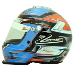 Zamp Helmet RZ-42Y CMR2016 Orange - blue