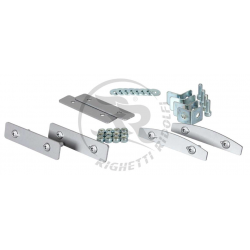 Fixing kit for rental side protections