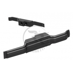 Side spoiler for mini rental kart