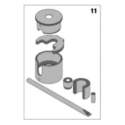Crankshaft De - Mounting kit Rotax Max