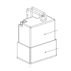 Batterijhouder Bescherm Set