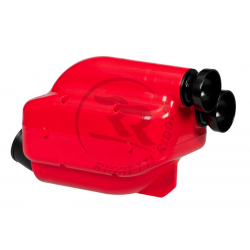 "Air filter 30mm ""NOX"" (red / black)"