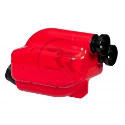 """Luchtfilter 30mm """"NOX"""" (rood/zwart)"""