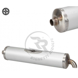 Exhaust Silencer KZ - MC Racing - Texalium (NO CIK)