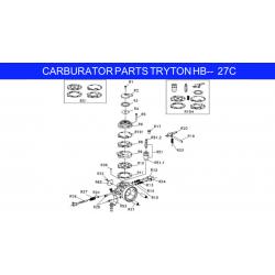 pomp membraanpakking HB27 Iame X30