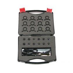 Karting Tire Pressure Measuring Systems Race Basic + Booster + 12V Batterij Set (Stone)