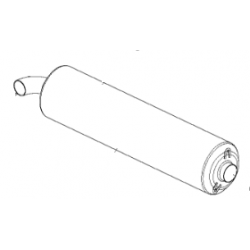 EXHAUST SILENCER, HOMOLOGATED