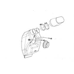 AIRBOX Set compleet (incl. Rubber, Houder en Luchtfilter)
