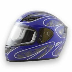 Zamp Helmet RZ-42 Orange/ Blue