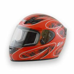 Zamp Helmet FS-8 Red/ Black