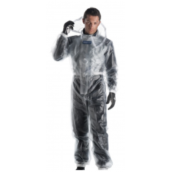 Sparco rain overall T-1 transparent