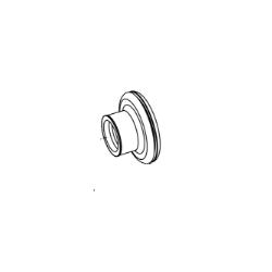 Inlaat rubber - EVO II - EFI