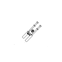 Houder SET (5), INJECTOR - EVO II - EFI
