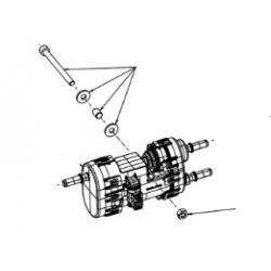Bevestigingsset (4), elektrische brandstofpomp - EVO II - EFI