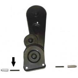Schroefdraad pin M6x45