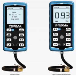 Prisma Reifendruckprüfer HiPreMa 4 + Stoppuhr + IR-Temperatur