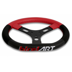Sterring wheel aluminium 320mm with Leather -  Birel 2019