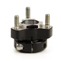 Wheel hub 25 mm - Length: 40 mm - black