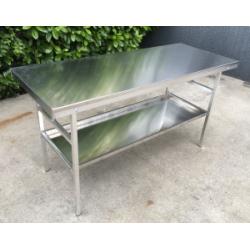 aluminium work table