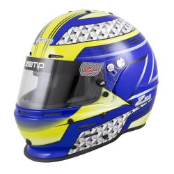 Zamp Helmet RZ-62 Blue/Green