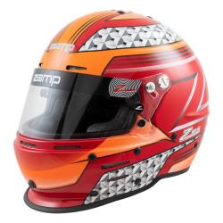 Zamp Helmet RZ-62 red