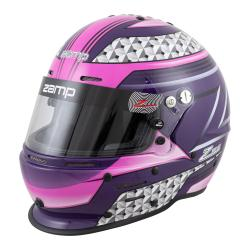 Zamp Helmet RZ-62 PINK/PURPLE