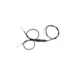 Dual carburetor throttle cable