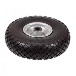 Rubber solid wheel for kart trolley
