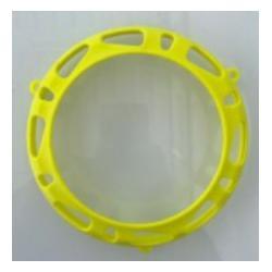 Cover clutch Yellow TM KZ
