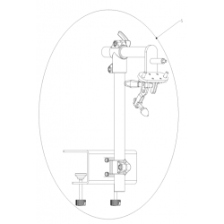 Engine mounting stand